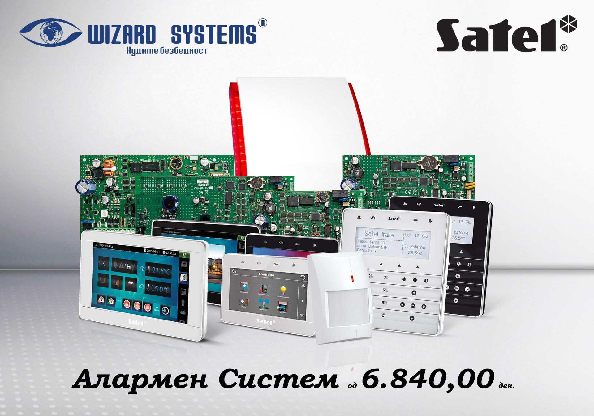 1. Alarmen sistem